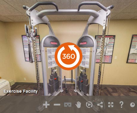 Exercise Facility at LivINN Hotel Cincinnati / Sharonville Convention Center