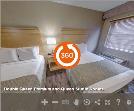 2 Queens Premium at LivINN Hotel Cincinnati / Sharonville Convention Center