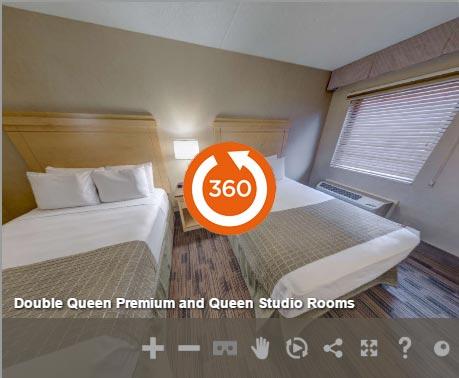 2 Queens Studio of LivINN Hotel Cincinnati / Sharonville Convention Center