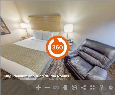 King Premium Accessible in LivINN Hotel Cincinnati / Sharonville Convention Center